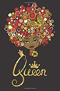 Melanin Queen: Black Girl Magic Vacation Planner Notebook 6x9 Inches 100 Pages Travel Journal Trip Planner and Vacation Diary Checklists, Calendar, ... African American DNA,  Black And Educated