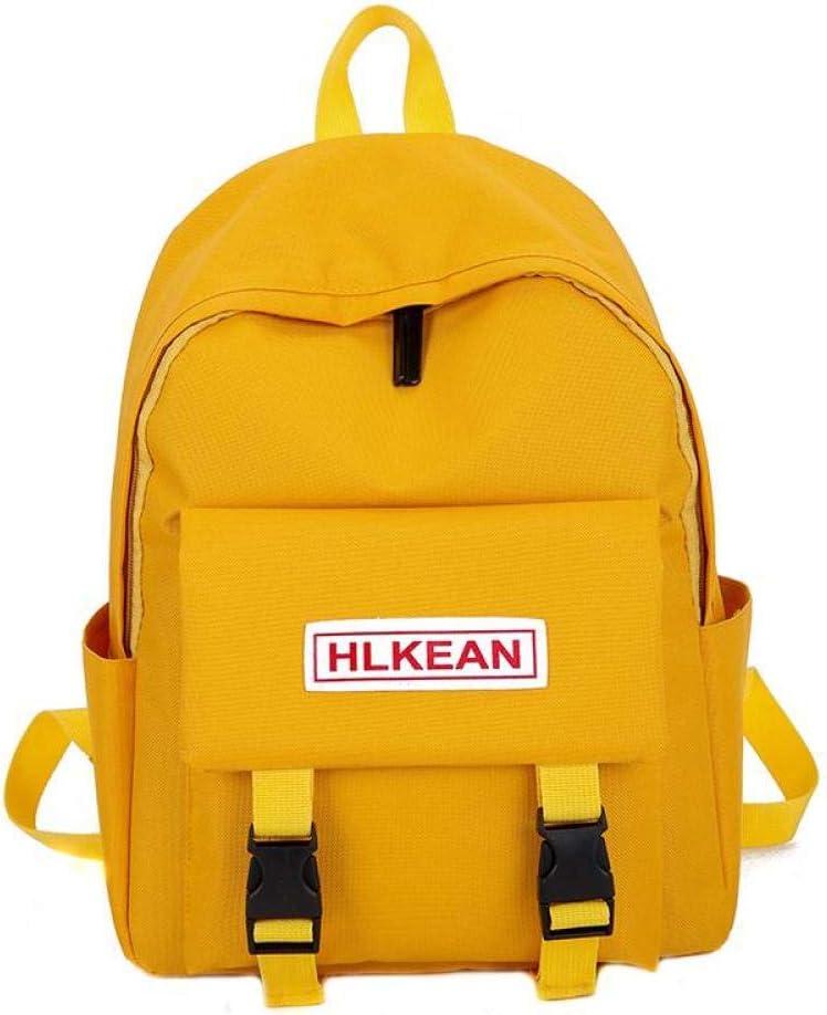 Trend Female Backpack Casual Classical Women Backpack Fashion Women Shoulder Bag Solid Color School Bag for Teenage Girl