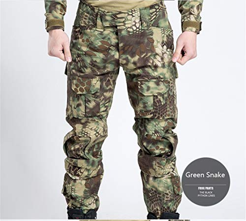 Heren Outdoor camouflage broek camping wandelen Pants Man Army Rip-Stop Sports Pants Anti-Pilling Broeken,H,34