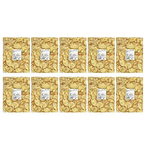 【冷凍】皮付きスライス生姜 1kg×10パック 高知県産