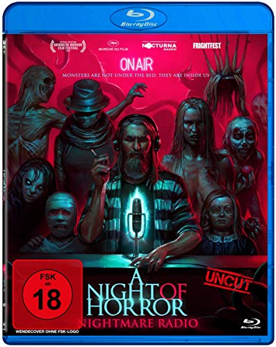 A Night Of Horror - Nightmare Radio (uncut) [Alemania] [Blu-ray]