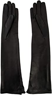 Luxury Fashion   Sermoneta Gloves Womens SG1231604010 Black Gloves   Season Permanent