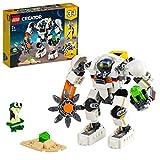 LEGO 31115 Creator 3 en 1 Meca Minero Espacial Robot Cargador Cuadrúpedo, Juguete de construcción con Mini Figura de Alien