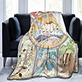 antoipyns Avatar The Last Airbender Ultra Soft Micro Fleece Blanket Lovely Air Conditioning Blanket Warm Throws Blanket for All Season Bedding Couch and Plush House Warming Decor Gift 50'x40'