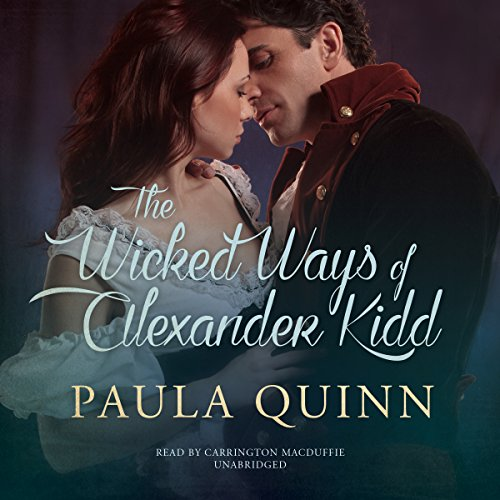 The Wicked Ways of Alexander Kidd audiobook cover art