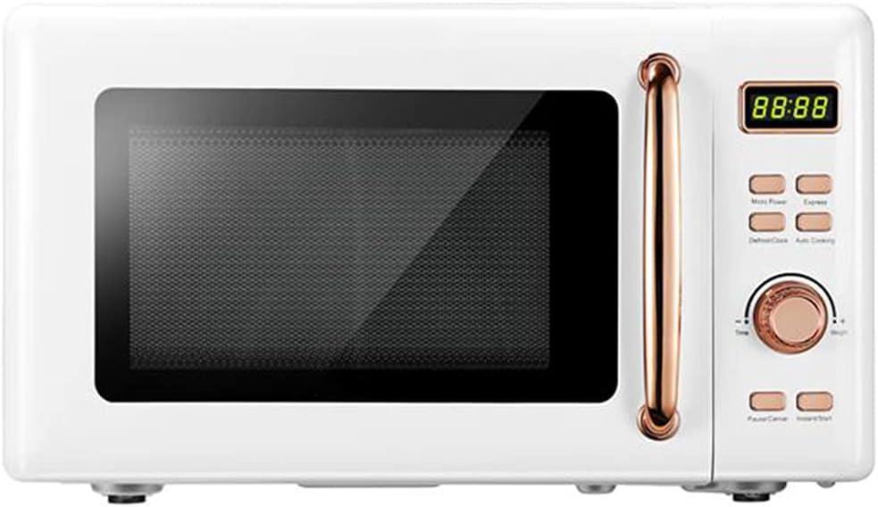Retro Microwave overseas trend rank Oven with Position-Memory Sensor Turntabl Smart