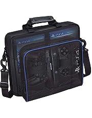 حقيبة سهلة الحمل لجهاز سوني بلاي ستيشن 4، تستخدم لحفظ الجهاز وحمله اثناء التنقل والسفر