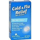 Natra Bio Cold & Flu Relief 60 Tab