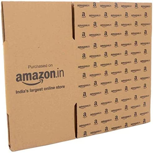 MARUDHAR PACKAGING Corrugated Box, 6x4x3.5-inch (Brown) - Pack of 50