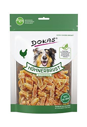 DOKAS Glutenfreier Premium Snack in praktischer Größe für Hunde – Ideal zum Training 1 X 200 g