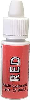 Red Epoxy Pigment (Colorant, Dye, Tint) 6cc (0.2 oz.)