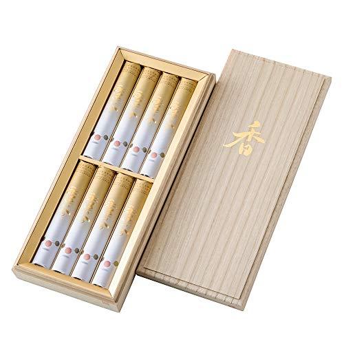 【お仏壇のはせがわ】 進物線香 ギフト 永遠の今シリーズ 伝統的な香り 贈答用 包装済 はせがわオリジナル 桐箱入