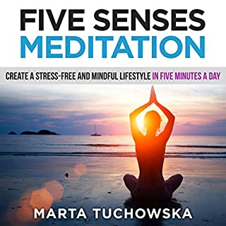 Five Senses Meditation audiobook cover art