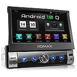 XOMAX XM-VA760 Autoradio con Android 10 I Quad Core, 2GB...