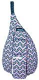 KAVU Mini Rope Bag Cotton Crossbody Sling  - Jewel Chevron