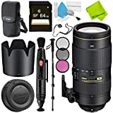 Nikon AF-S NIKKOR 80-400mm f/4.5-5.6G ED VR Lens Base Bundle