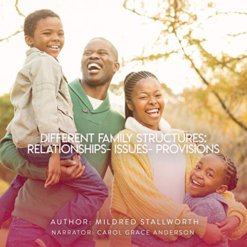 Different Family Structures: Relationships - Issues - Provisions audiobook cover art