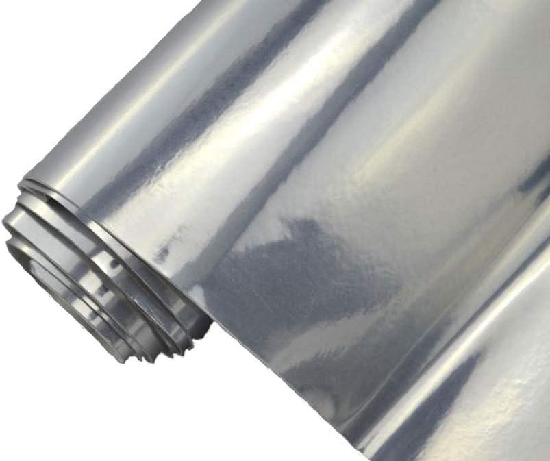 8 70 M Auto Folie Chrom Silber Selbstklebend Blasenfrei Flexibel Car Wrapping Klebefolie Folieren Auto