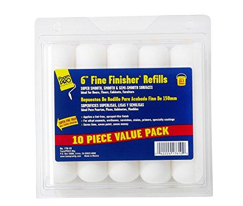 FOAM PRO 176-10 Foam Paint Roller, Pack of 10