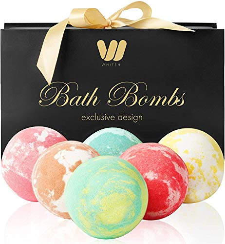 6 organic & natural bath bombs, handmade bubble bath bomb Montana