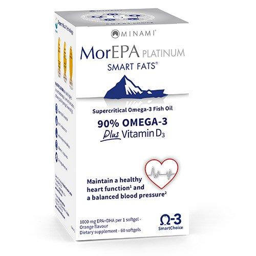 Minami Nutrition MorEPA Platinum Kapseln - Packung mit 60