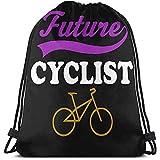 zaino con coulisse,borsa coulisse,ginnastica borse sportive,borsa da cinch,sacco sportivo per ciclisti del futuro ciclista per la spiaggia di allenamento di yoga della scuola itinerante