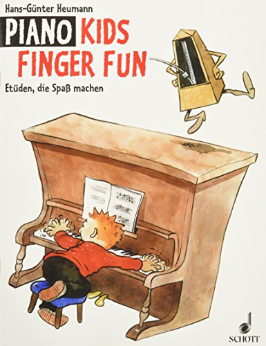 Piano Kids Finger Fun: Etüden, die Spaß machen. Klavier.