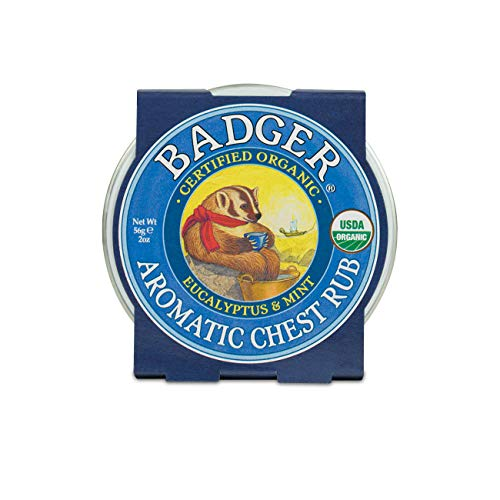 Badger - Winter Wonder Balm, Aromatique Chest Rub - 2 Oz