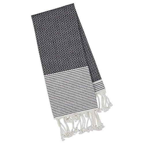 Diseño de las importaciones Fouta toalla de algodón, manta playa, manta o chal 39-inch por (