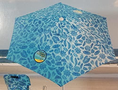 Tommy Bahama 2020 Sand Anchor 7 Feet Beach Umbrella with Tilt and...