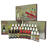 The Army Painter | Ultimate Hobby Collection | 30 Colores Acrílicos con 11 Pinceles | | Material de Base, Pintura y Modelado de Figuras Miniatura de Wargames