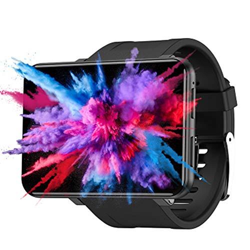 LXZ 2,86 Zoll Großer Bildschirm Outdoor-Kamera Bluetooth Anruf GPS-Positionierung Navigation 4G Unabhängige Karte wasserdichte Multi-Sport-Smartwatch,Schwarz,16G