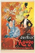 EuroGraphics Au Joyeux Moulin Rouge, 1900 Art Print, Poster or Canvas