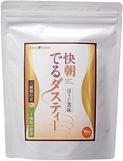快朝でるダスティー 1袋(3g×15包) 健康茶 ブレンド茶 なた豆茶 お茶 ほうじ茶