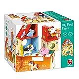 Goula- Juguete Preescolar apilable y de construcción niñas a Partir de 1 año, Multicolor (53470)