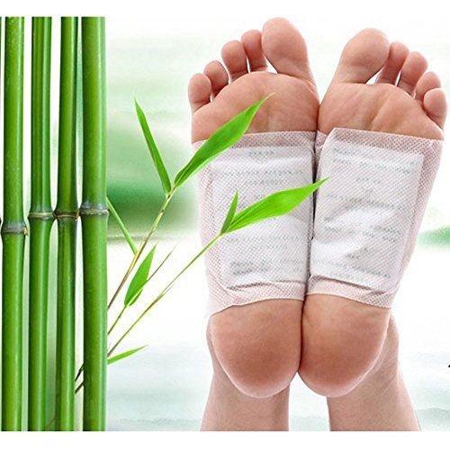 Vital-Pflaster Detoxpflaster für die Körperentschlackung (100 Stück-Packung) von Global Care Market®