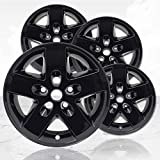 Upgrade Your Auto 17' Gloss Black Wheel Skins (Set of 4) for 2007-2018 Jeep Wrangler - 9074