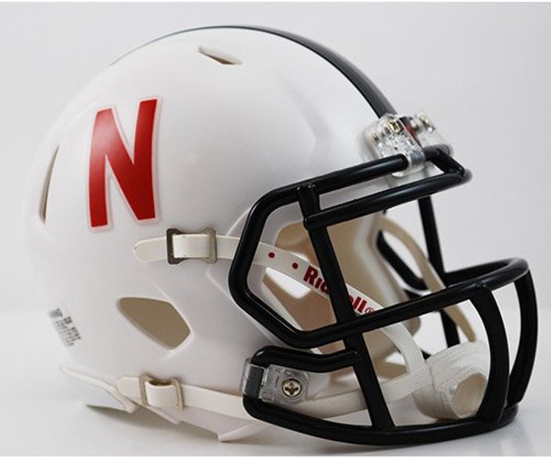 Nebraska Huskers Speed Mini Helmet  Alt White