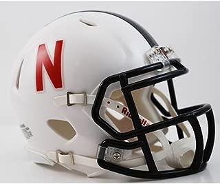 Riddell Nebraska Huskers Speed Mini Helmet - Alt White