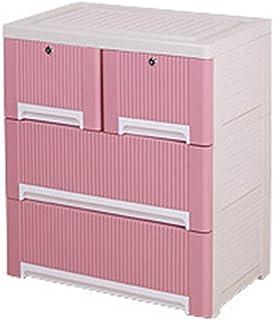 Vobajf Garde-robe simple en plastique Drawer Dresser de l'organisateur de rangement pour la chambre à coucher des enfants ...