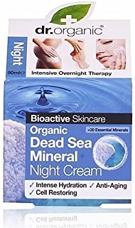 Dr Organic Dead Sea Mineral Night Cream 50ml ( Anti-aging )
