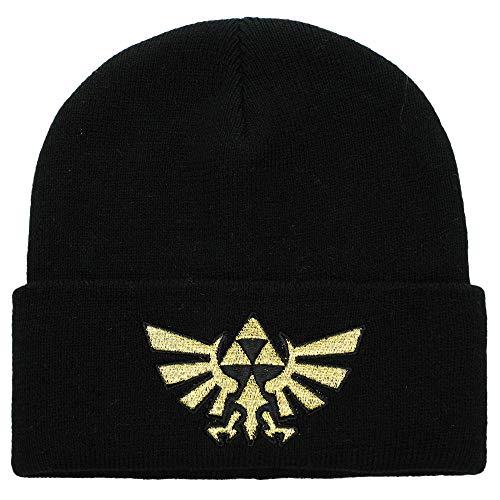 Bioworld Legend of Zelda Triforce - Gorro de punto