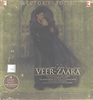 Veer Zaara - Collector's Edition (4 disc set) by Various, Lata Mangeshkar, Sonu Nigam, Udit Narayan & Jagjit Singh (2012) Audio CD