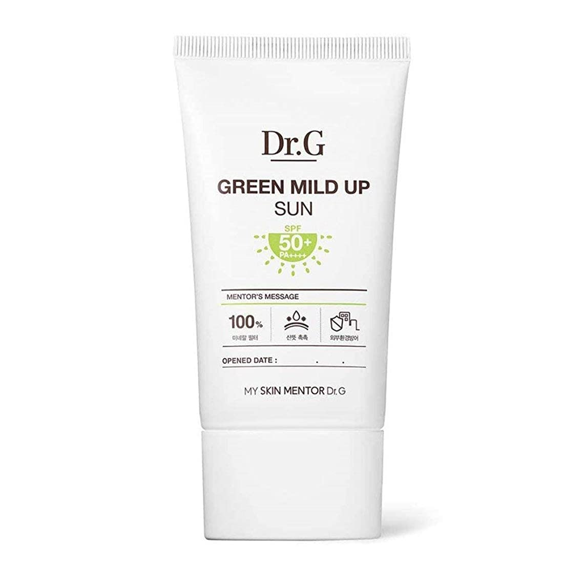 複製の頭の上キウイDr.G ダクトジ のグリーンマイルドアップサンクリーム Green Mild Up Sun (50ml) SPF50+ PA++++ [韓国日焼け止め] DR G DRG