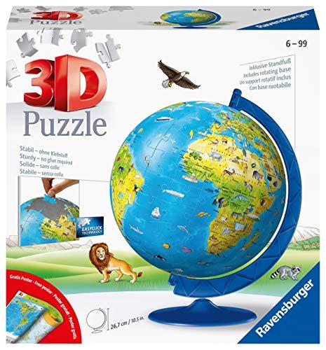 Ravensburger 11160 Kindererde Children's Globe in German