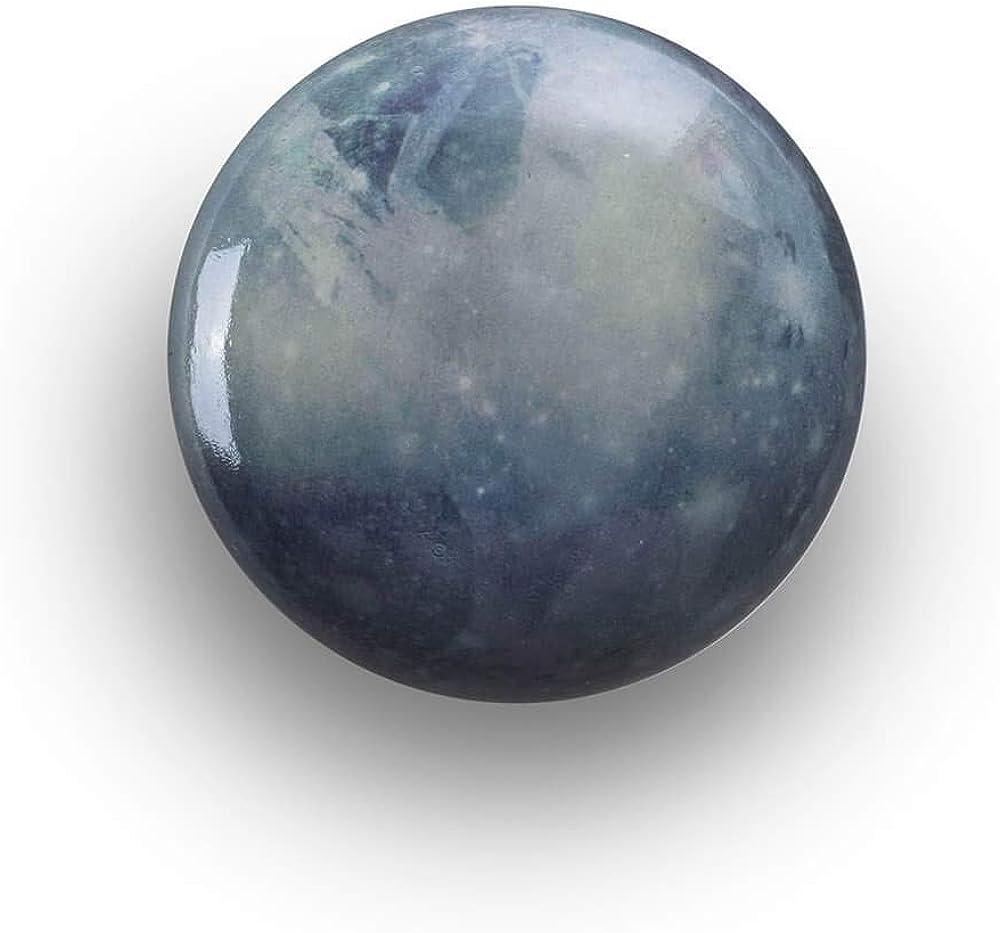Seletti diesel cosmic diner, gancio appendiabiti, sistema solare urano,in legno 13224