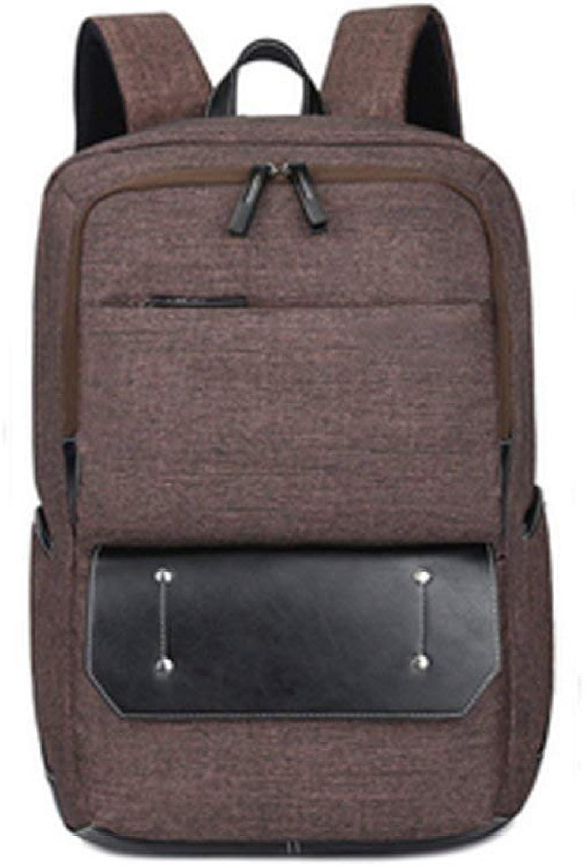 Hulday Handtaschen wasserdichte Umhngetasche Reise Business Freizeit Mehrzweck Reiserucksack Herren Tglich Einfacher Stil Shopping Handtasche Taschen (Farbe   braun, Größe   One Größe)