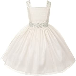 Cinderella Couture Girls Sparkling Rhinestone Pageant Flower Girl Party Dress