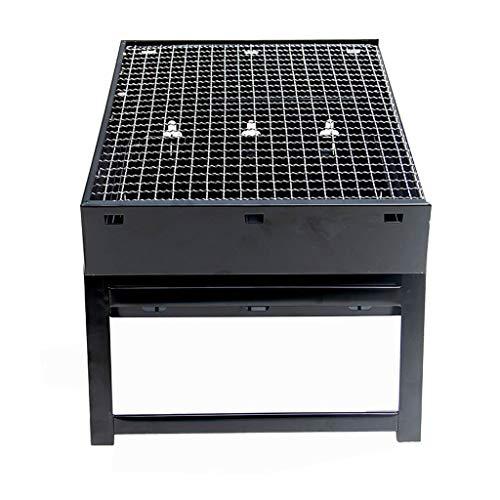 wanhaishop bastidores para barbacoas Conveniente al Aire Libre Parrilla de carbón Inicio Plegable Grill Barbacoa Salvaje Parrillada Asador al Aire Libre (Size : XL)