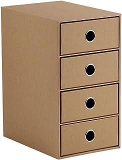 Rössler Boîte de rangement à 4 tiroirs 4 tiroirs. DIN A5, 4 Fach Puissance.